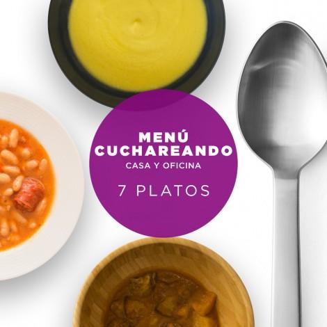 Menú Cuchareando 7 Tuppers  a domicilio de platos de Cuchara