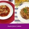 Menú diario - 2 platos